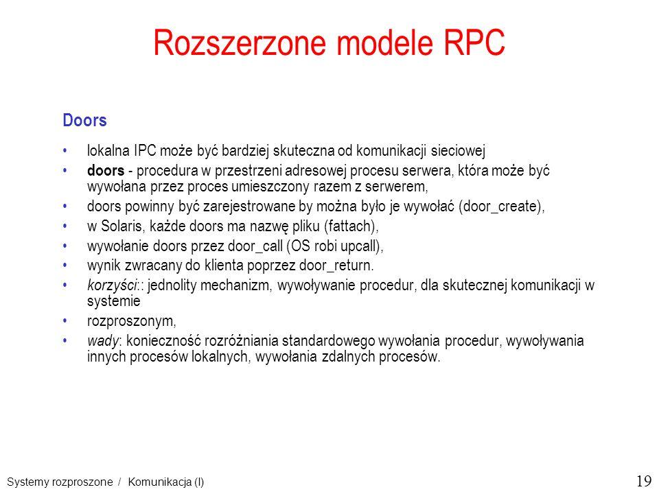 Rozszerzone modele RPC