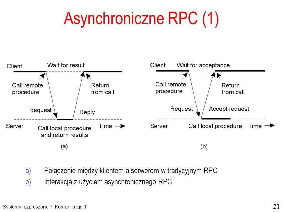 Asynchroniczne RPC (1) 2-12