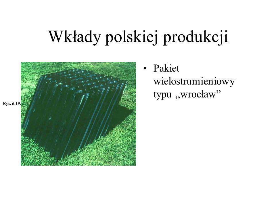 Wkłady polskiej produkcji