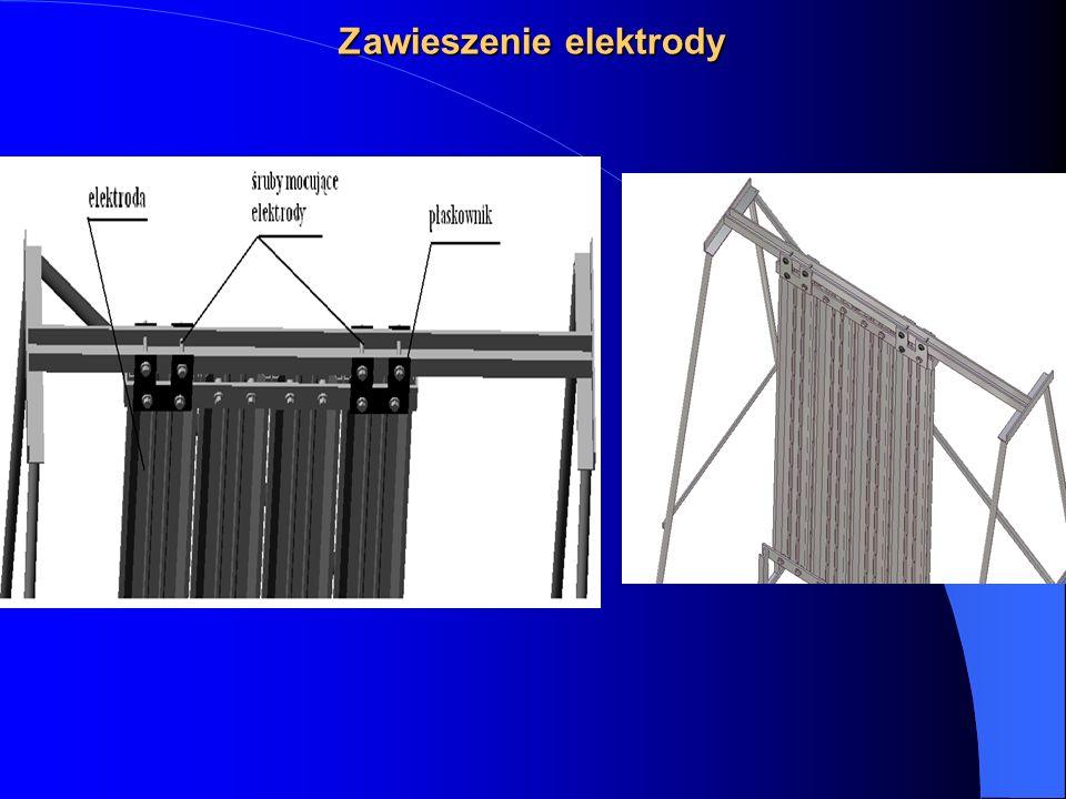 Zawieszenie elektrody