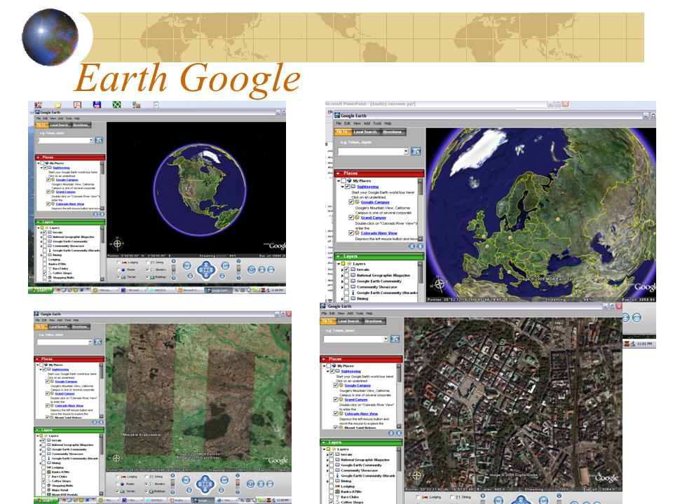 Earth Google