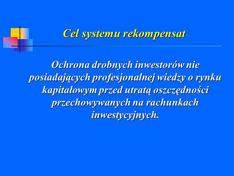Cel systemu rekompensat