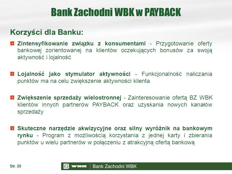 Bank Zachodni WBK w PAYBACK