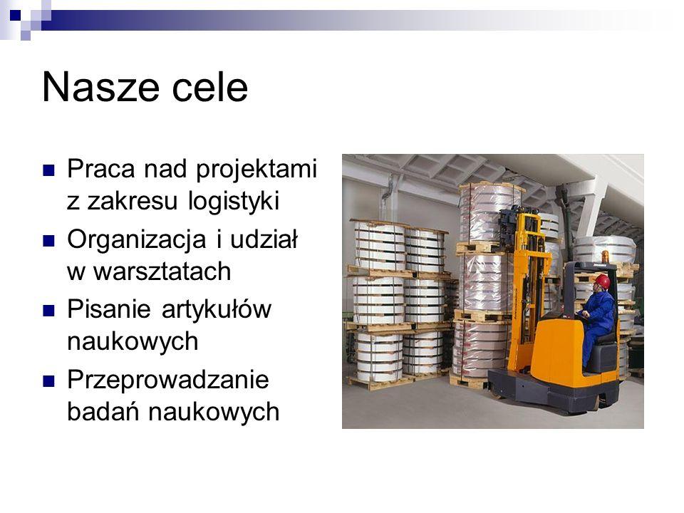 Nasze cele Praca nad projektami z zakresu logistyki
