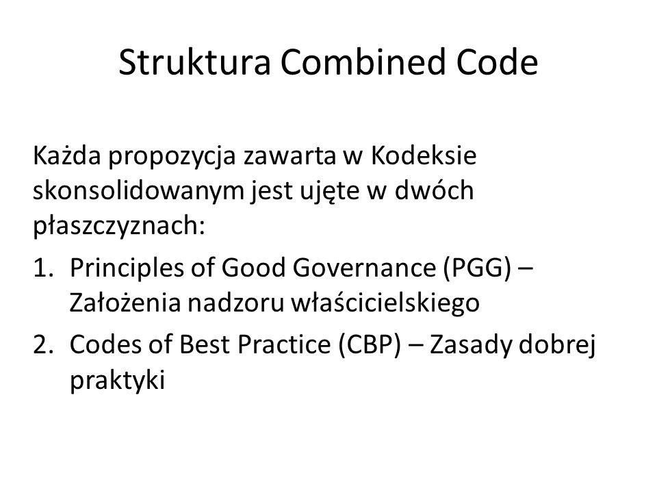 Struktura Combined Code