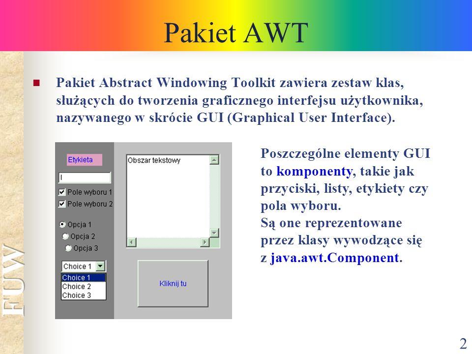 Pakiet AWT