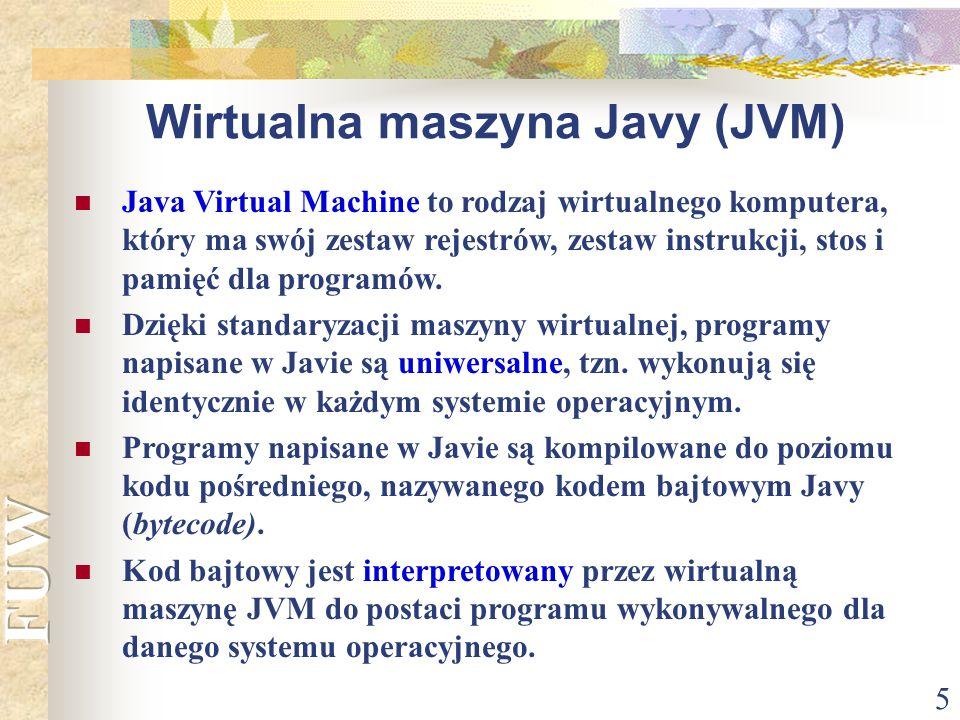 Wirtualna maszyna Javy (JVM)