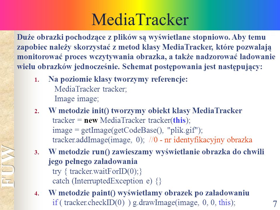 MediaTracker