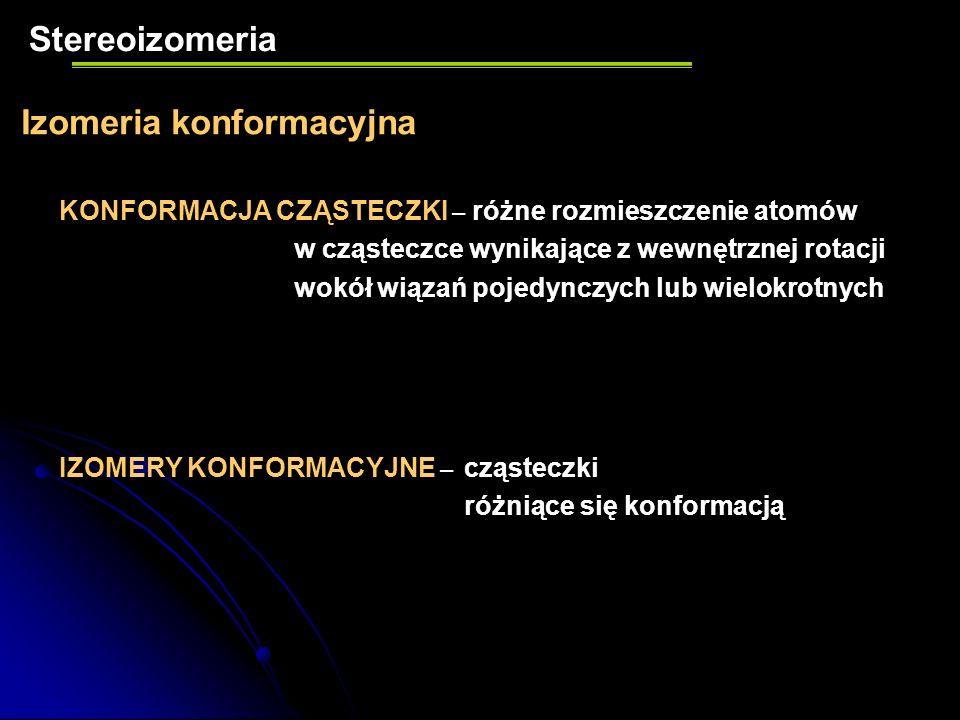 Izomeria konformacyjna