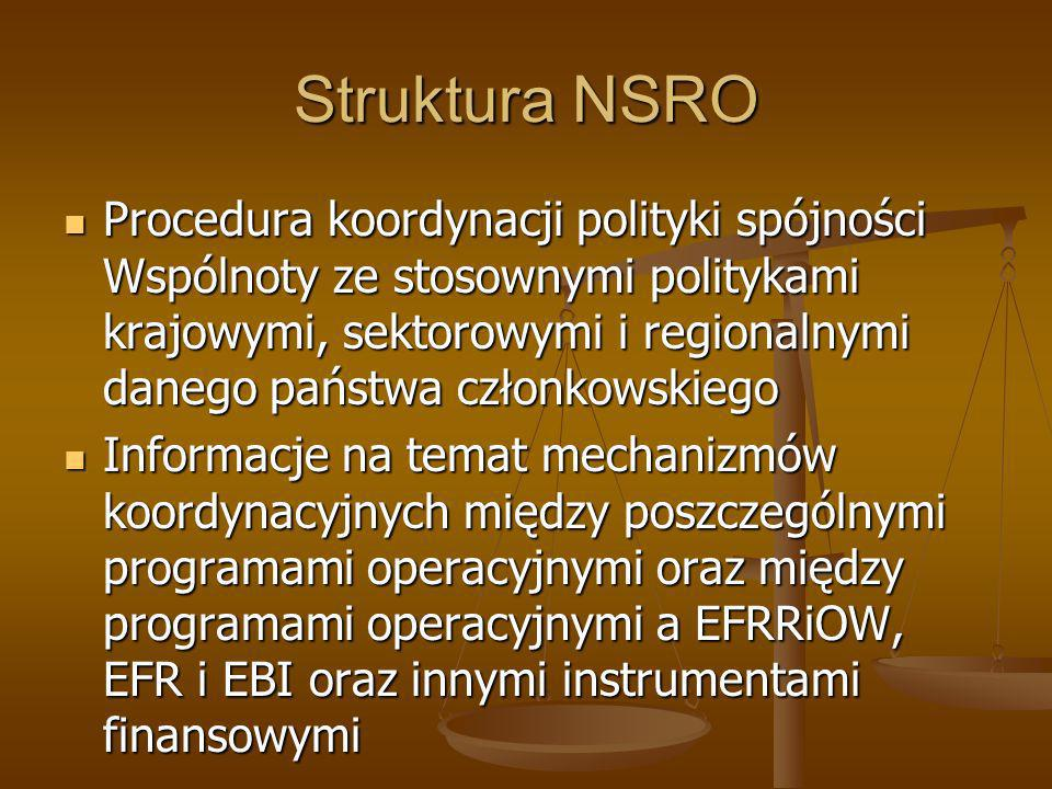 Struktura NSRO
