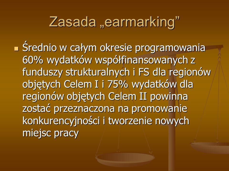 "Zasada ""earmarking"