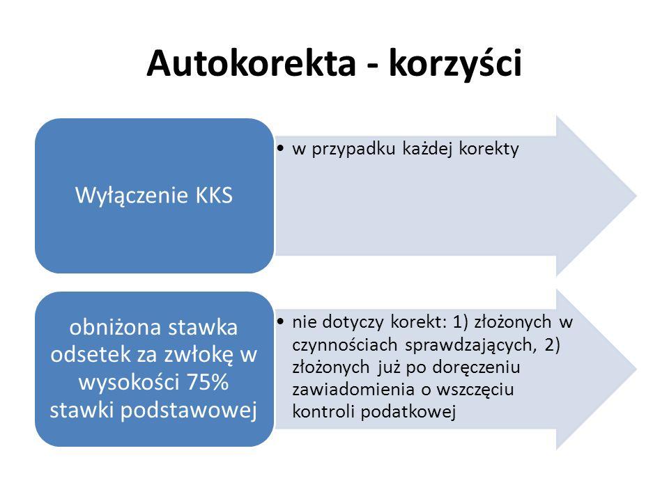 Autokorekta - korzyści