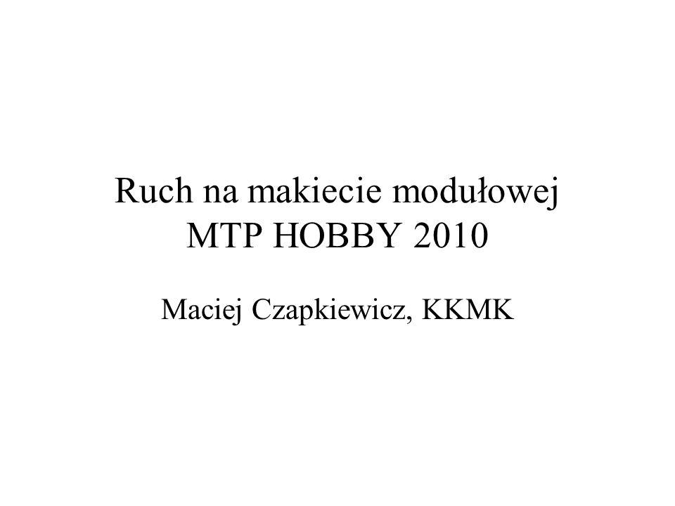 Ruch na makiecie modułowej MTP HOBBY 2010