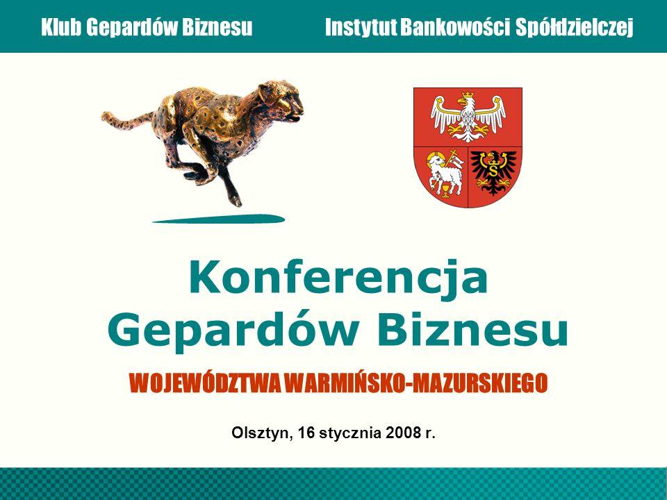 Konferencja Gepardów Biznesu