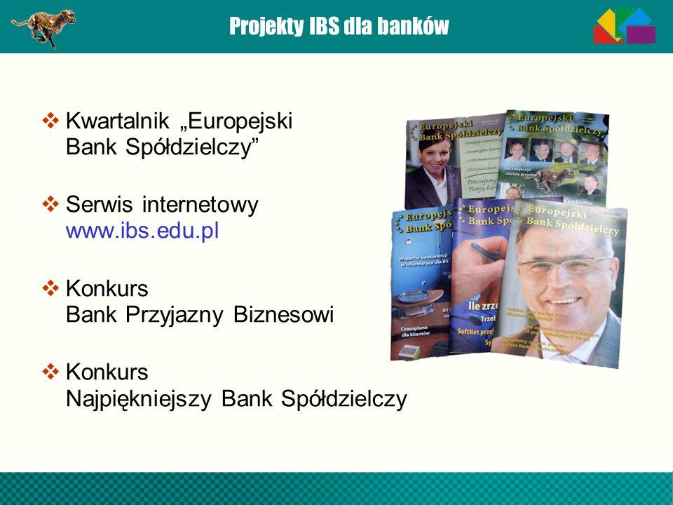Projekty IBS dla banków