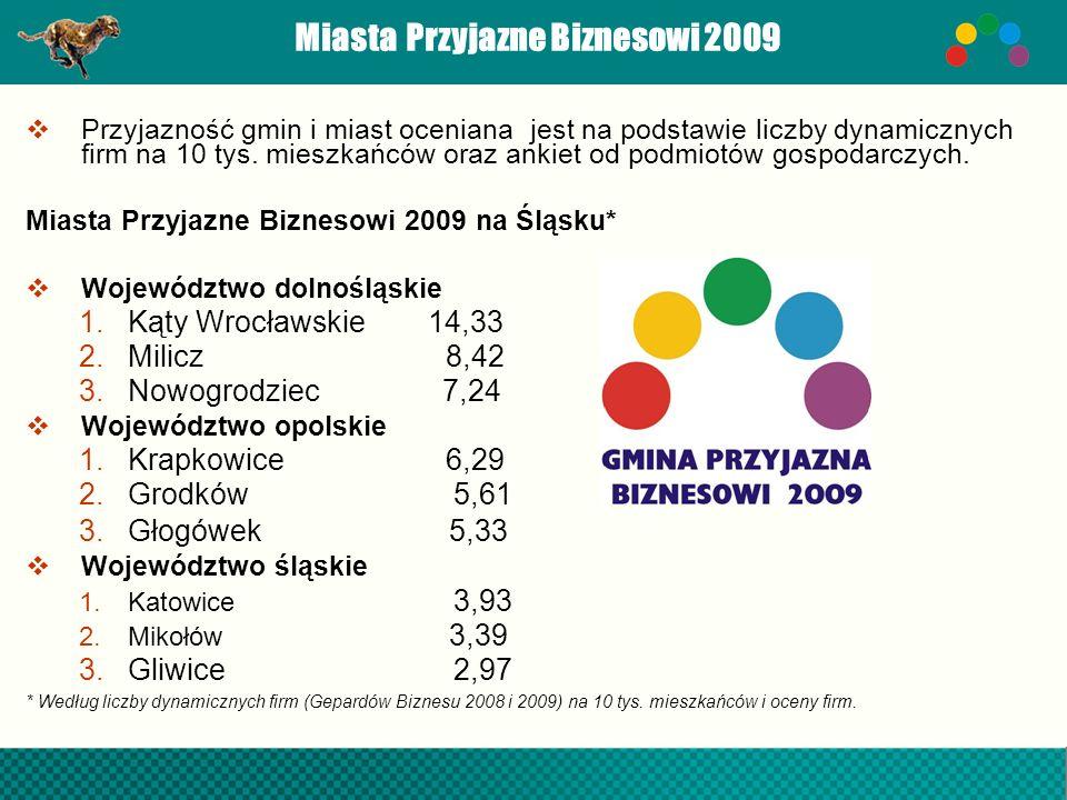 Miasta Przyjazne Biznesowi 2009