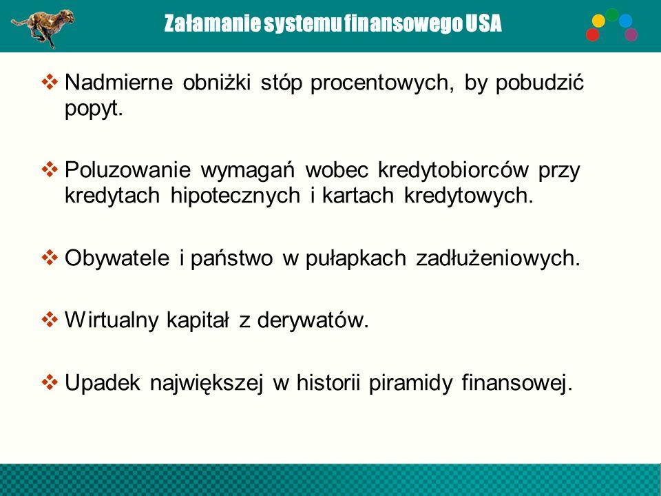 Załamanie systemu finansowego USA