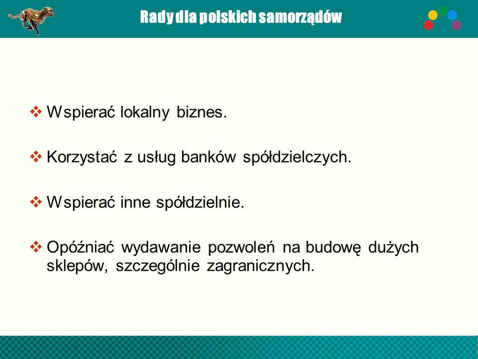 Rady dla polskich samorządów