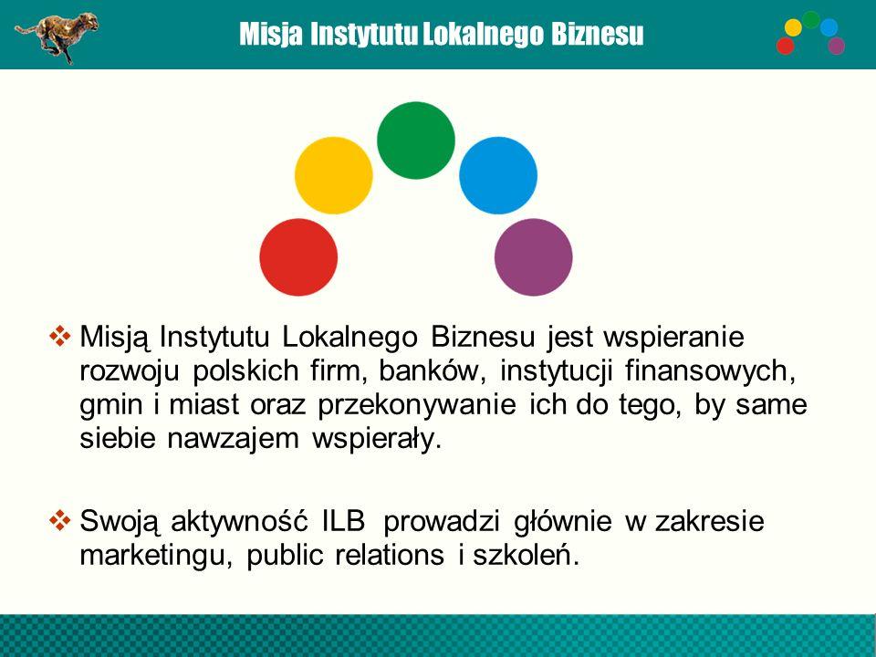 Misja Instytutu Lokalnego Biznesu