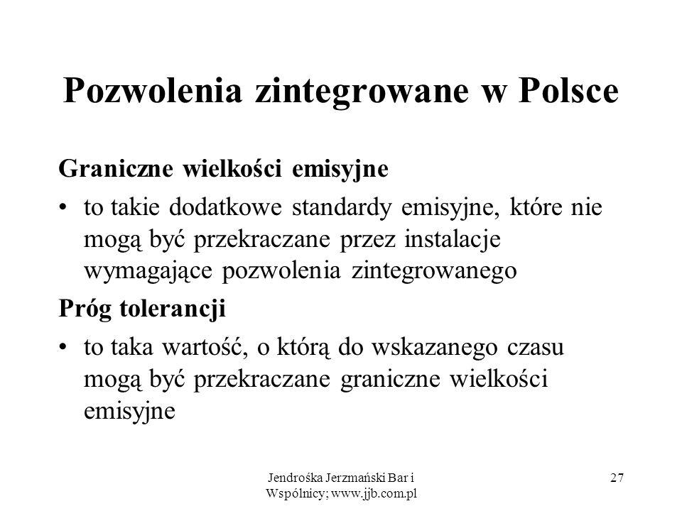 Pozwolenia zintegrowane w Polsce