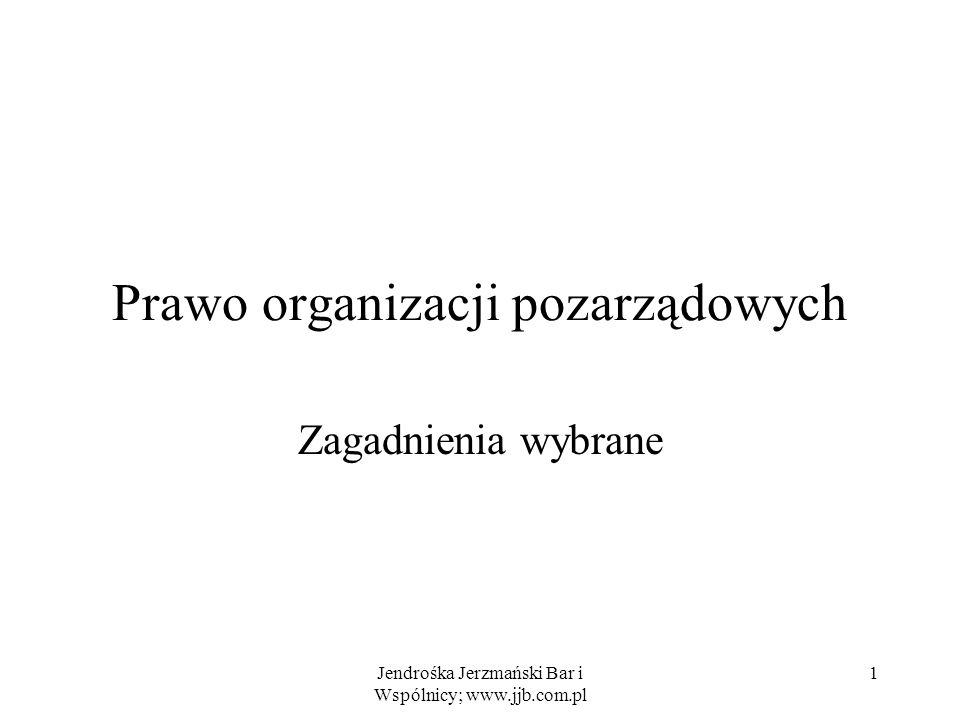 Prawo organizacji pozarządowych