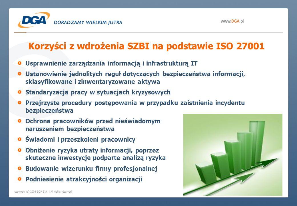 Korzyści z wdrożenia SZBI na podstawie ISO 27001