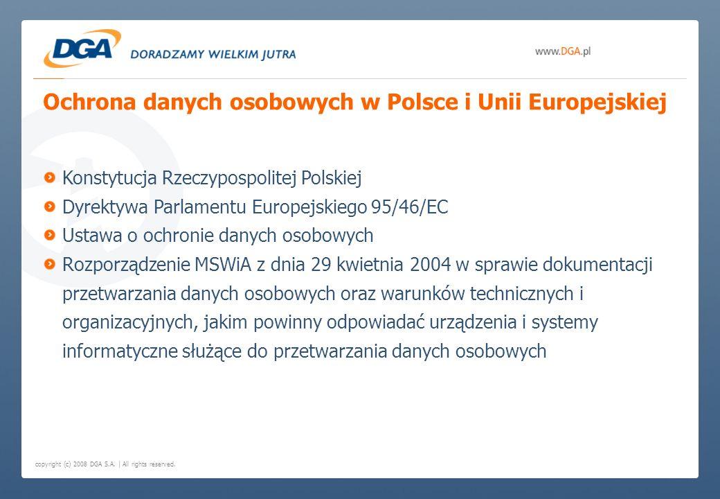 Ochrona danych osobowych w Polsce i Unii Europejskiej