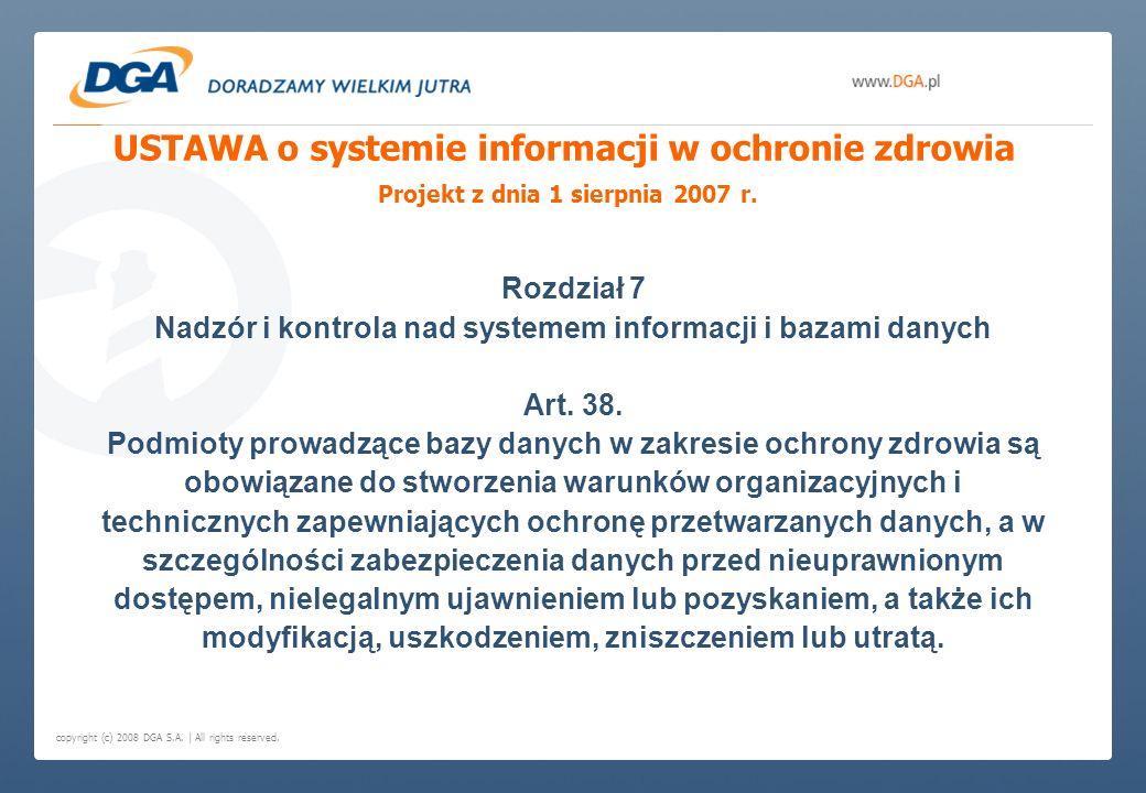 Nadzór i kontrola nad systemem informacji i bazami danych
