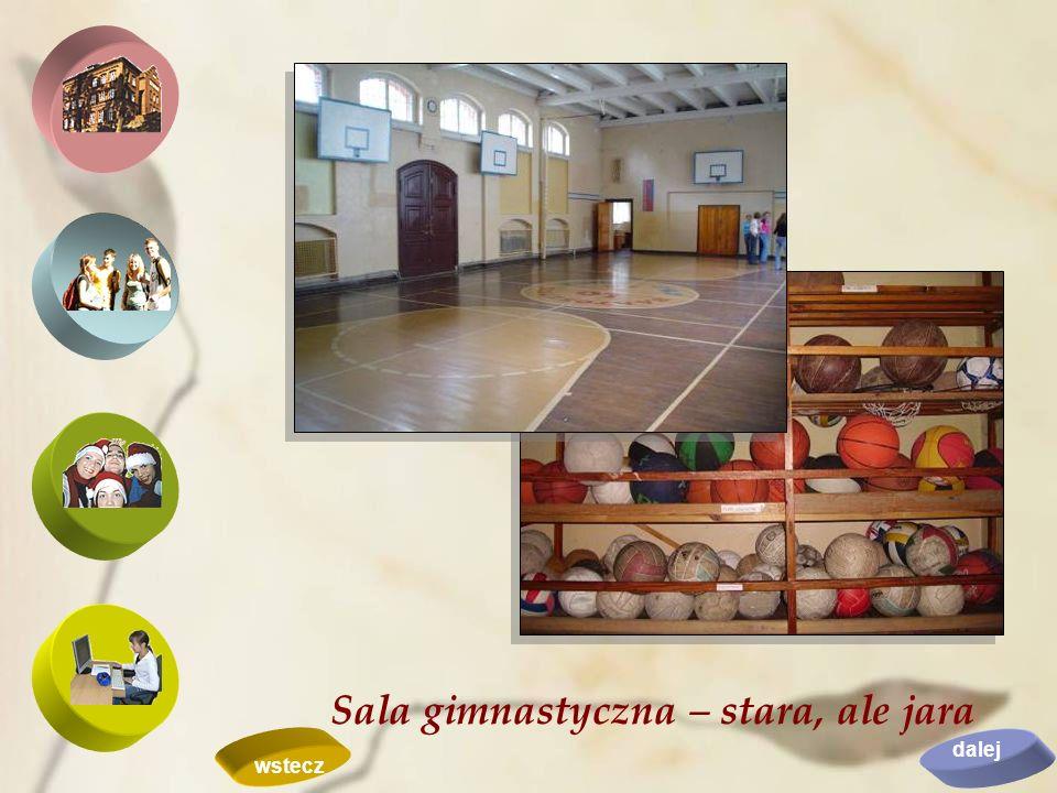 Sala gimnastyczna – stara, ale jara