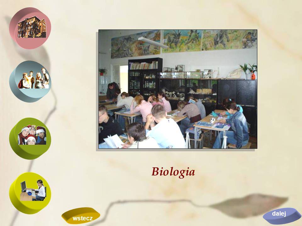 Biologia dalej wstecz