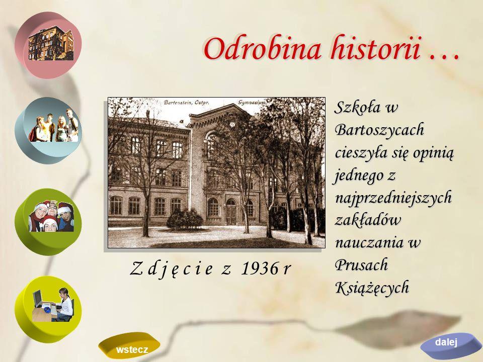 Odrobina historii … Z d j ę c i e z 1936 r