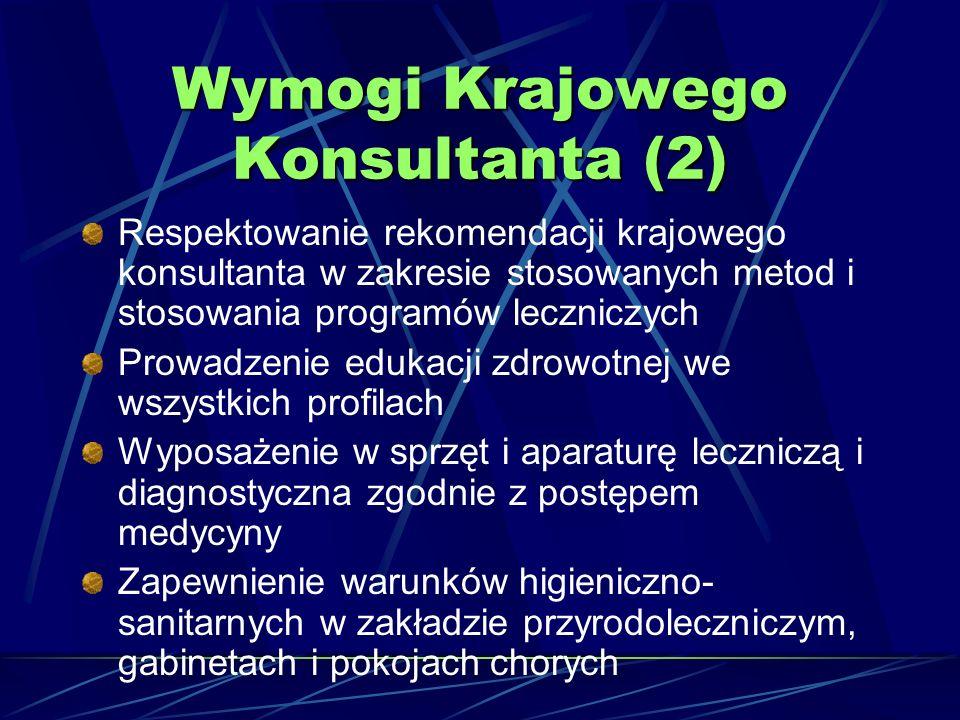 Wymogi Krajowego Konsultanta (2)