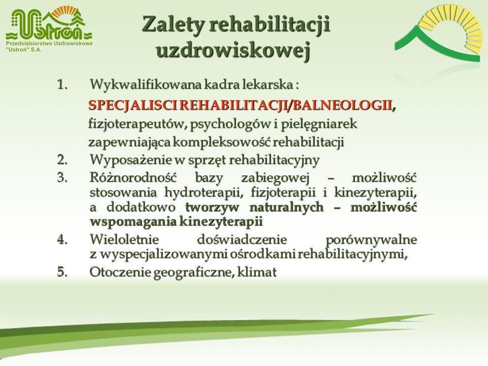 Zalety rehabilitacji uzdrowiskowej