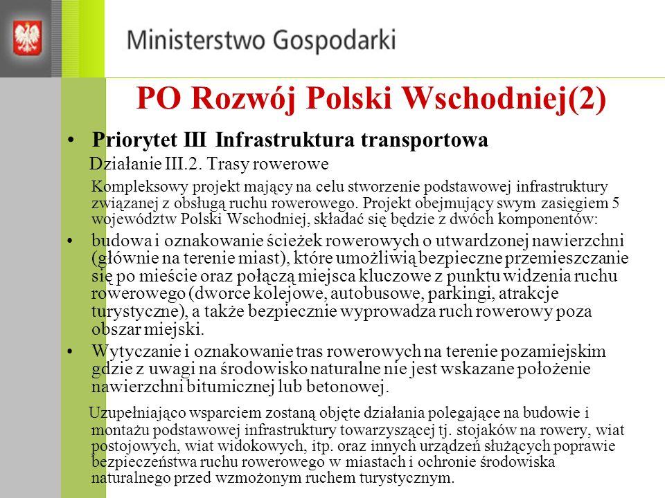 PO Rozwój Polski Wschodniej(2)