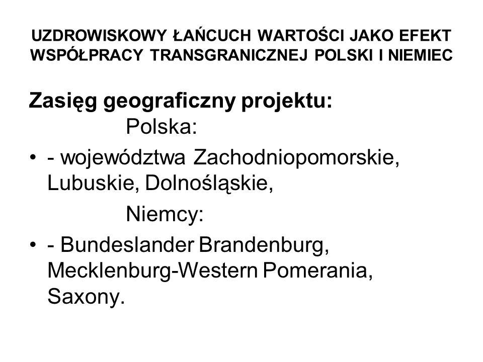 Zasięg geograficzny projektu: Polska: