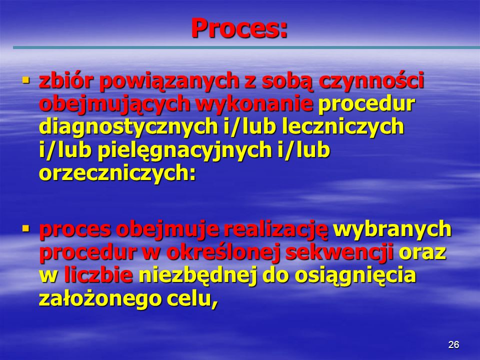 Proces: