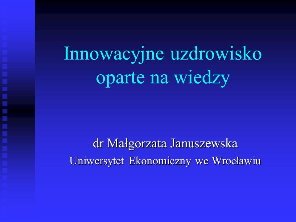 Innowacyjne uzdrowisko oparte na wiedzy