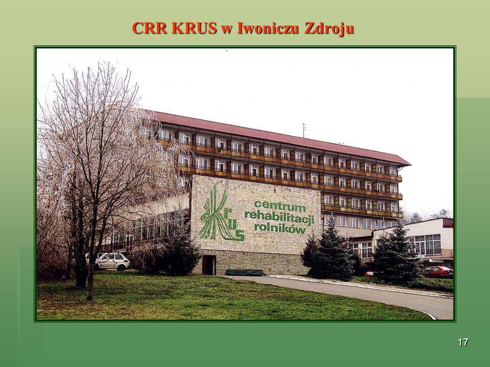 CRR KRUS w Iwoniczu Zdroju