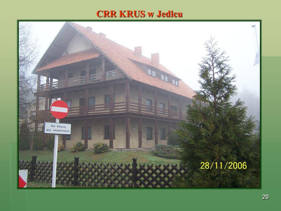 CRR KRUS w Jedlcu