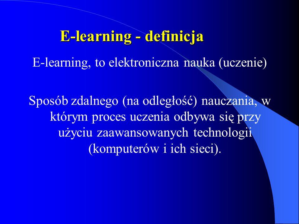 E-learning - definicja