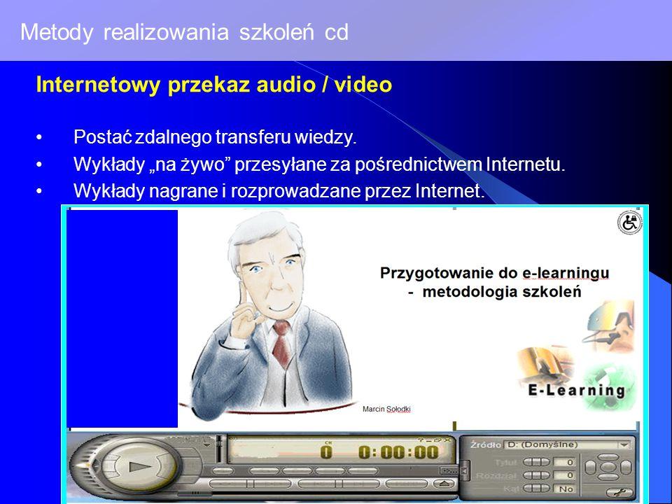 Metody realizowania szkoleń cd