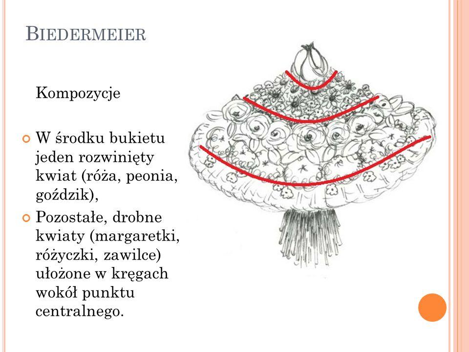 Biedermeier Kompozycje