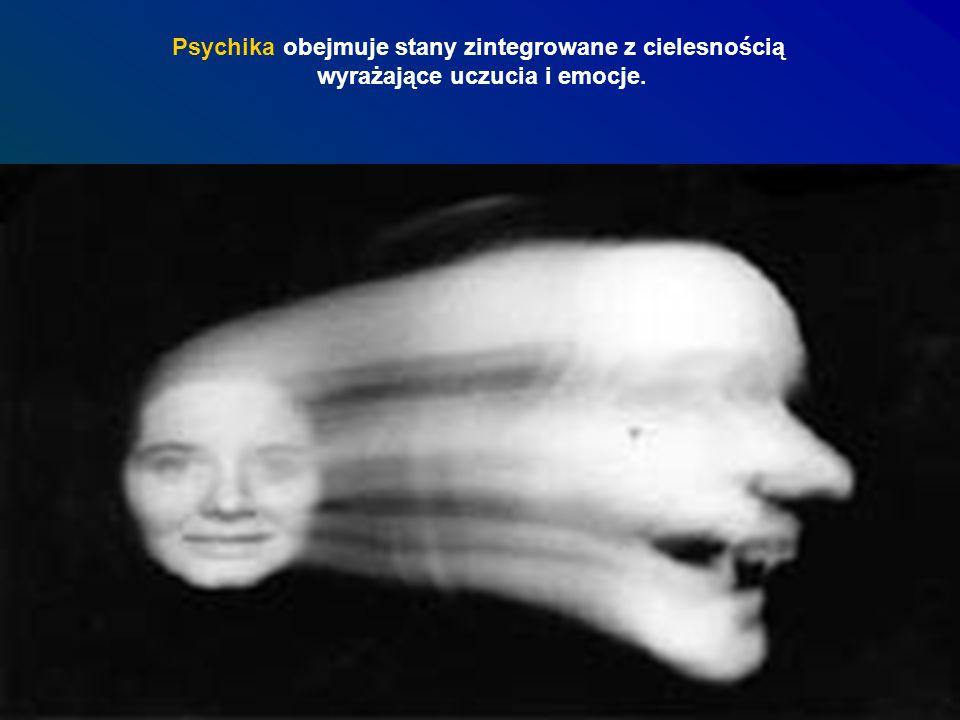 Psychika obejmuje stany zintegrowane z cielesnością