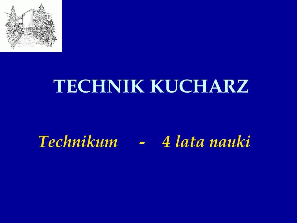 TECHNIK KUCHARZ Technikum - 4 lata nauki
