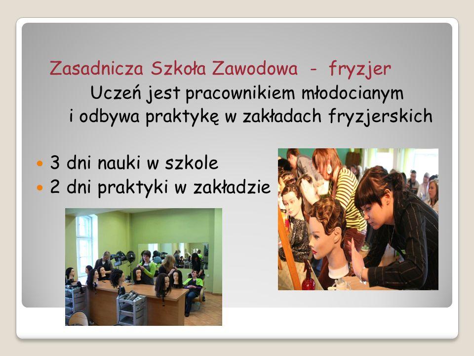 Zasadnicza Szkoła Zawodowa - fryzjer