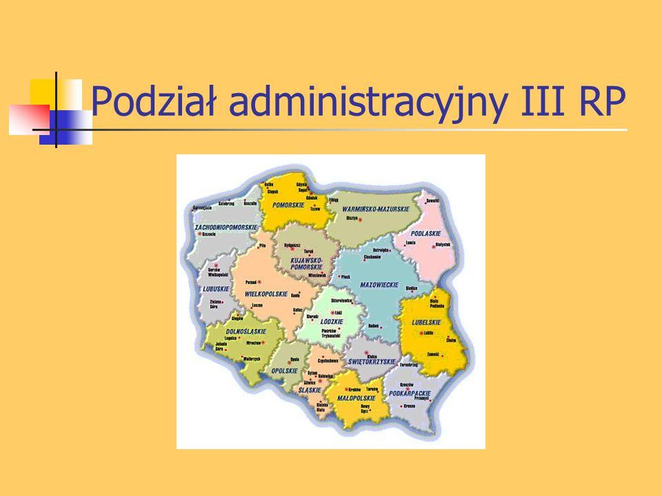 Podział administracyjny III RP