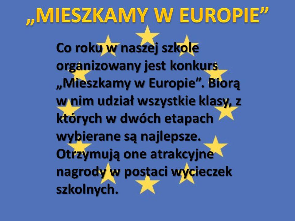 """""""MIESZKAMY W EUROPIE"""