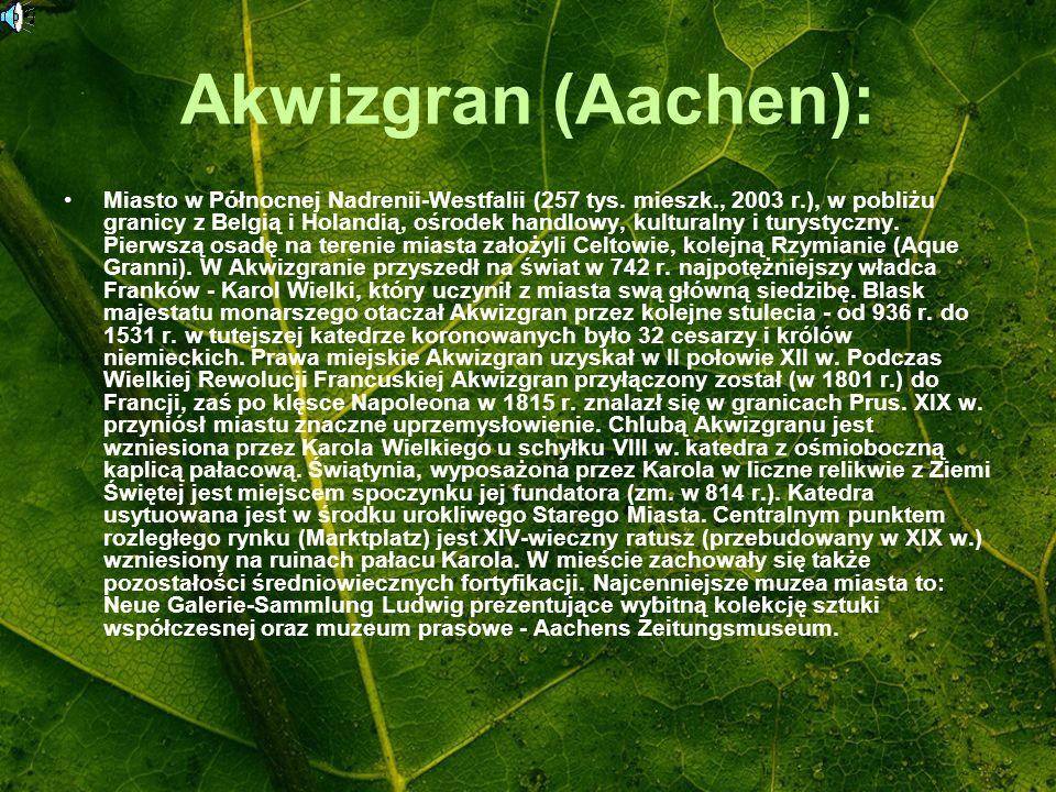 Akwizgran (Aachen):