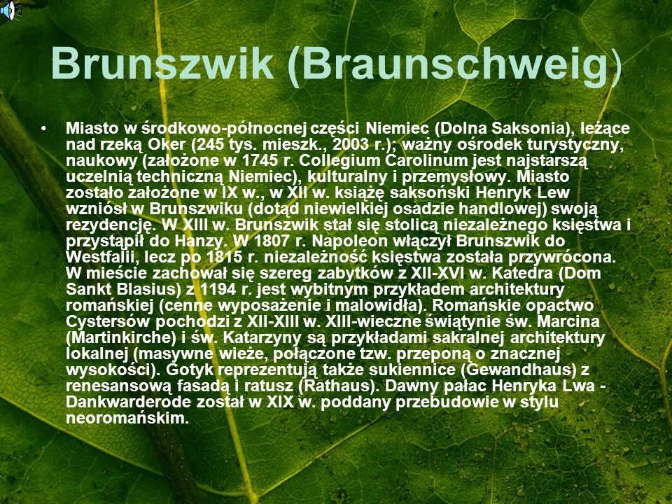Brunszwik (Braunschweig)