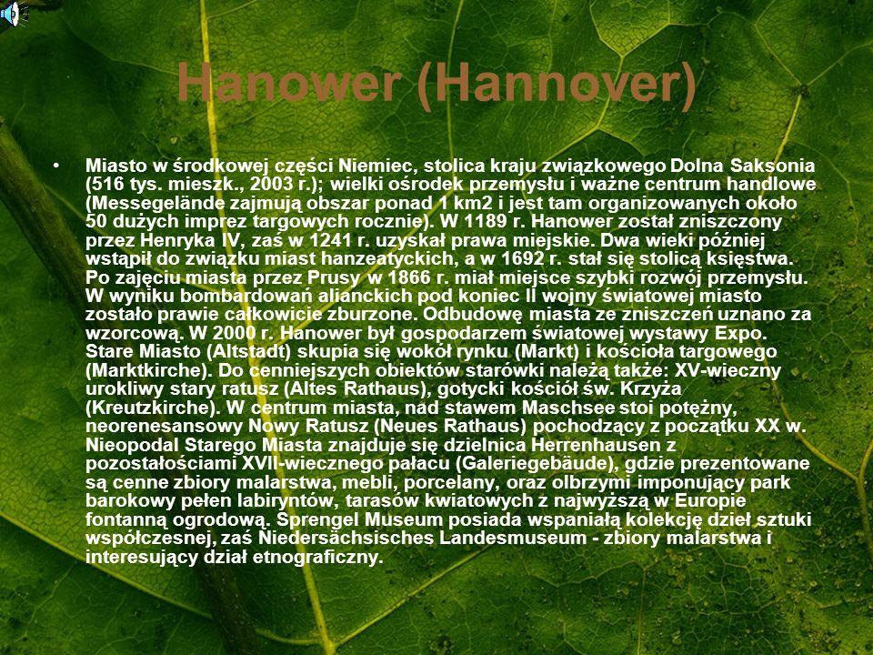 Hanower (Hannover)